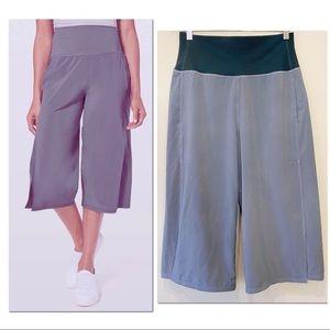 Lululemon Serene Wide Leg Culotte Cropped Pant 10